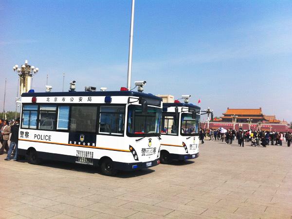 鸿马北京天安门图片